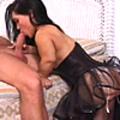 This horny midget loves big cock