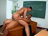 Randy teacher gets laid in class  