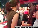 Girls Get Drunk at a Strip Club and Suck Strippers Cock