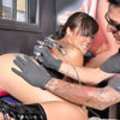 Asian Girl Gets Her Pussy Tattooed