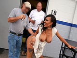 Asses In Public - Garage Sex with Lacey Duvalle