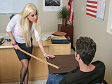 Big Tits At School - Teacher's Revenge with Gina Lynn