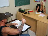 Big Tits At School -  Lesson Learned with Candy Manson