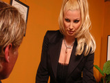 Big Tits At School -  Parent-Teacher Meeting with Brittany Andrews