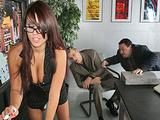 Big Tits At Work -  Eva Angelina Earning respect