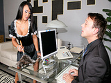 Big Tits At Work - The Cleaner with Mariah Milano