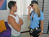 Big Tits At Work - Officer On Duty with Sarah Vandella