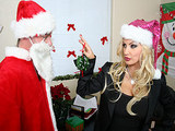 Big Tits At Work - Christmas Party with Brittany Andrews