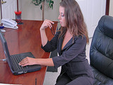 Big Tits At Work - Penny The Secretary with Penny Flame