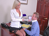 Big Tits At Work -  Nikki Benz Sales Manager