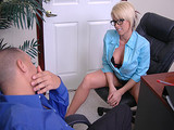 Big Tits At Work - Extra Incentive with Brooke Haven