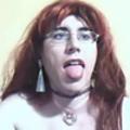 Kinky shemale gathers her hot cum
