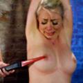 Tiedup Slut slave Wired pussy