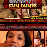 Ebony Cum Dumps