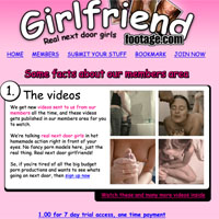 Girlfriend footage