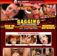 Gagging whores