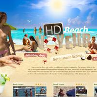HD Beach Voyeur