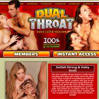 Dual throat