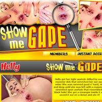 Show me gape