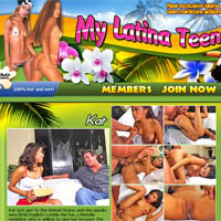 My latina teen