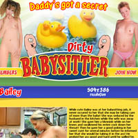 Dirty baby sitter