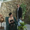 Rich MATURE lady in stockings seducing her bodyguard
