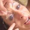 Super hot and tempting Liza Harper with cum in eye