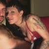 Tattoed hottie suck dick and gets fucked